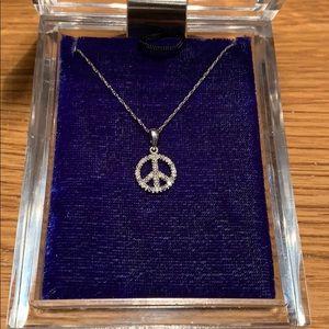 Jewelry - 10k WG Diamond Necklace